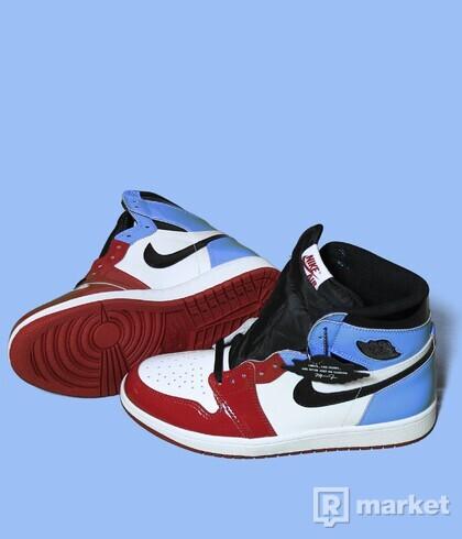 Air Jordan 1 UNC Fearless