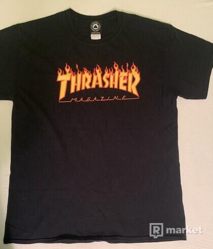 THRASHER TEE FLAME