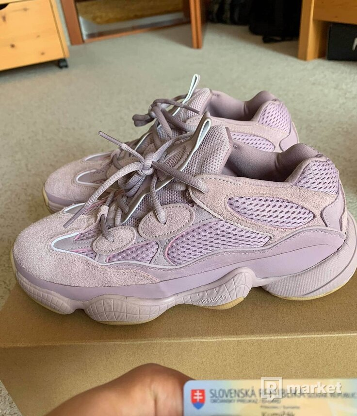 "Adidas Yeezy 500 ""soft vision"""
