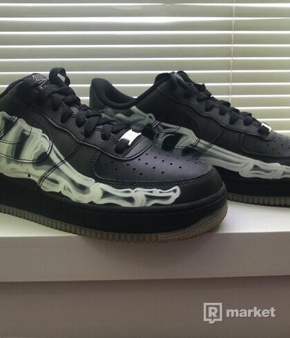 Nike Air Force 1 Skeleton Black US 10