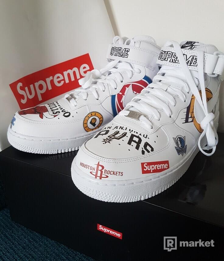 Nike AF  x supreme nba