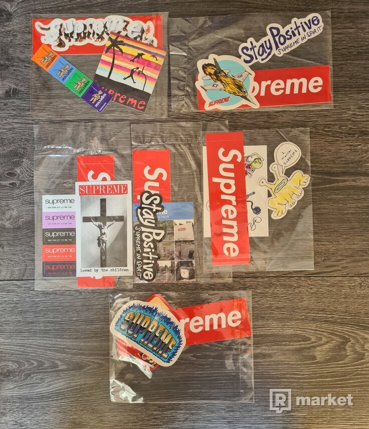 Supreme Stickers