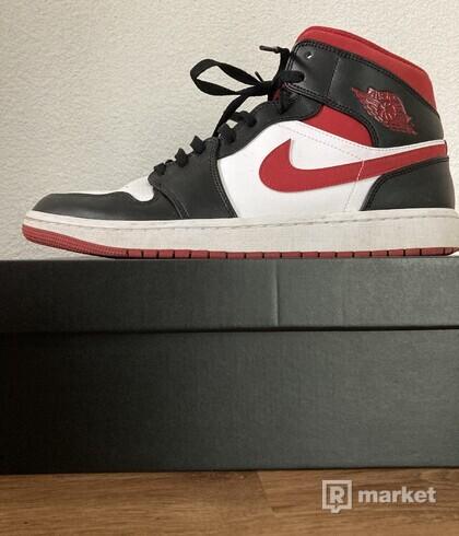 Jordan 1 Mid gym red US 12