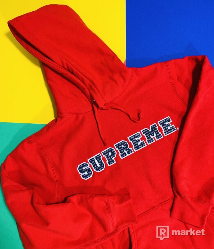 Supreme Mikina The Most Hooded Sweatshirt