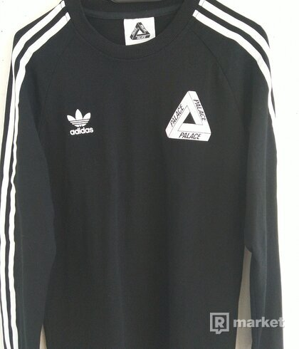 Palace Adidas crewneck sweater
