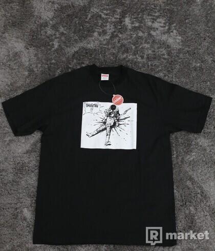 Supreme x Akira Yamagata Tee Black