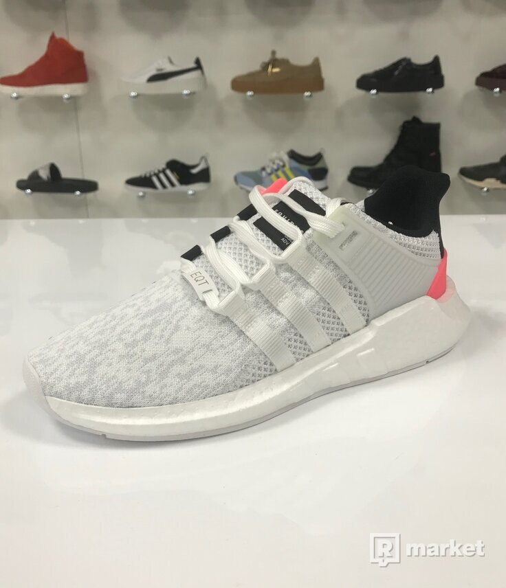 Adidas EQT 93/17 White/Turbo Red