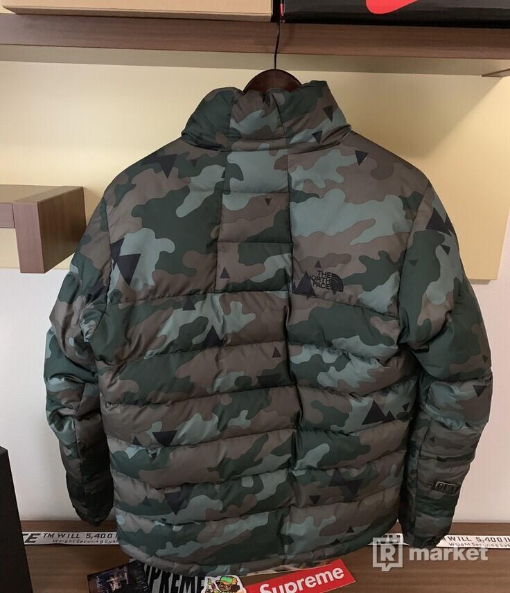 North Face Nuptse 700 Camo Puffer Jacket