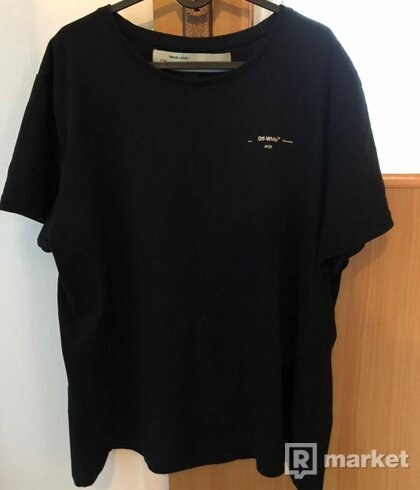 Off white oversized diag arrow tee