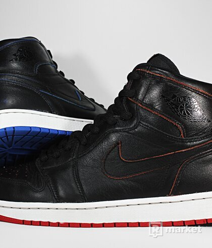"Air Jordan Retro 1 x Nike SB x Lance Mountain ""Black"""