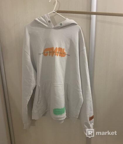 heron preston the streets are crazy hoodie