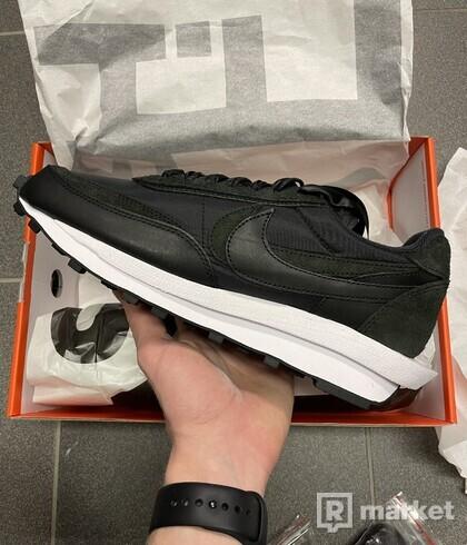 Nike LD Waffle Sacai Black Nylon - EU 42,5