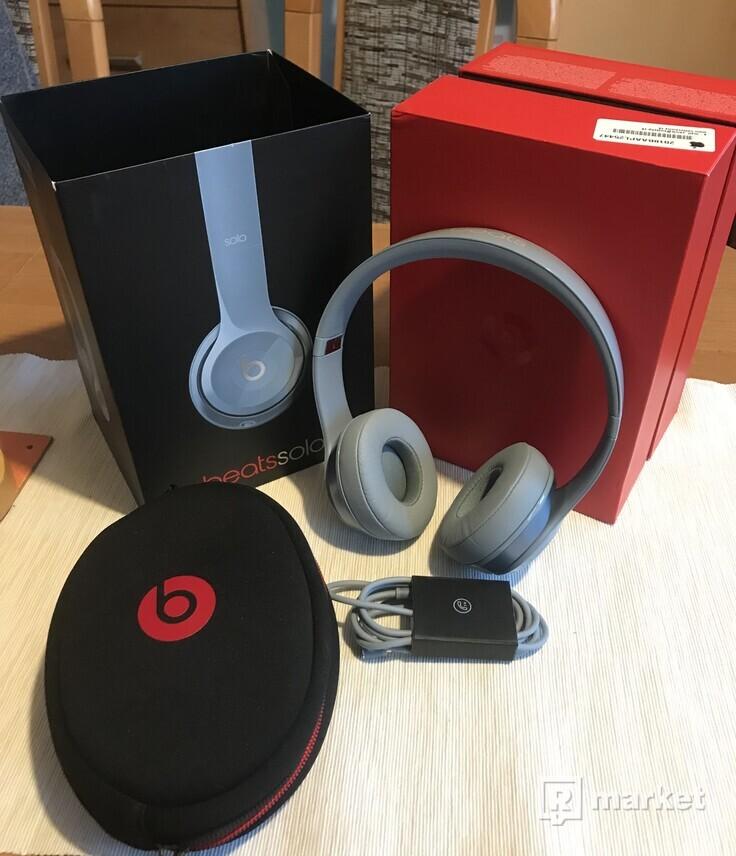 Sluchadlá Beats by Dr.Dre. Solo 2 silver