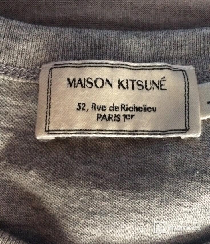 Maison Kitsuné fox patch tee
