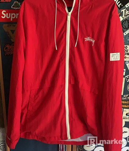 Stussy Red Jacket