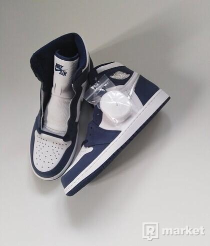Air Jordan 1 Midnight Navy