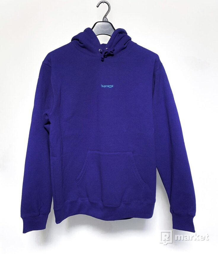 Digital Logo Hooded Sweatshirt