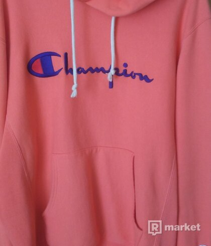Champion hoodie XL orange