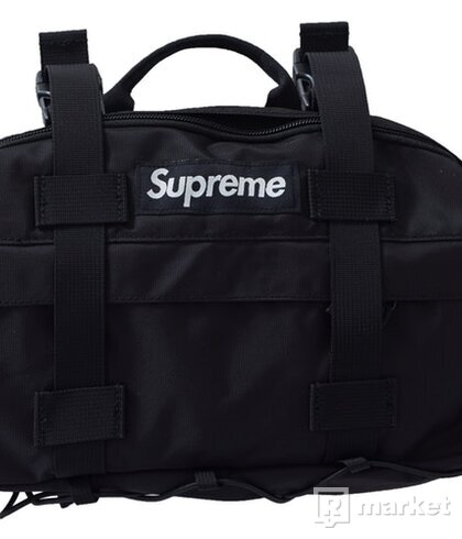 Supreme Waist Bag (FW19) Black