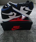 Jordan 1 Royal Toe GS