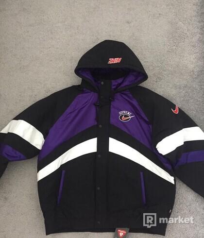 Supreme x nike hooded jacket