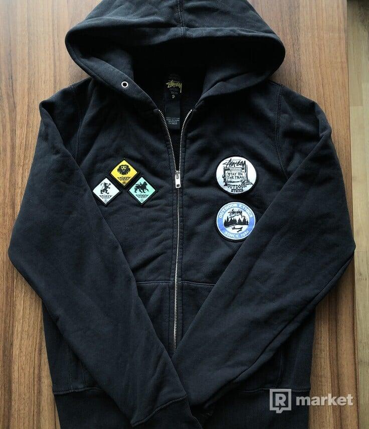 Stussy zip hoodie