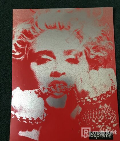 Supreme Madonna sticker