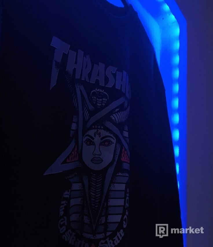 Thrasher Goddess Crewneck Black