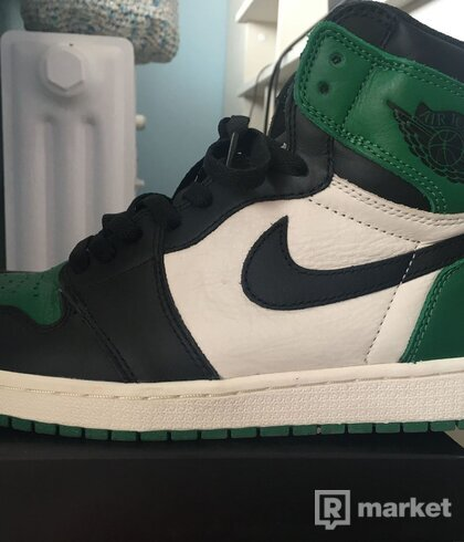 Air Jordan 1 High Pine Green