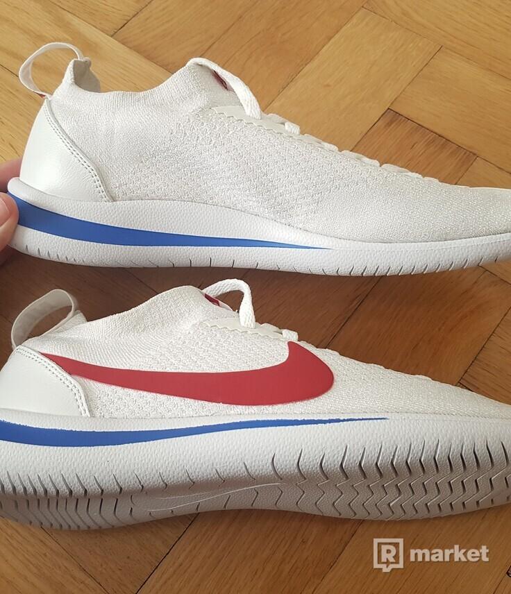 Nike Cortez Flyknit White / Varsity red US 8,5 UK 7,5 EUR 42