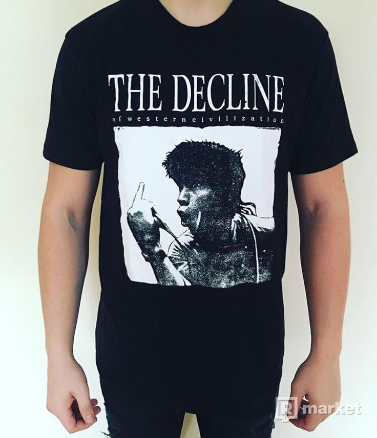 Supreme  the decline tee
