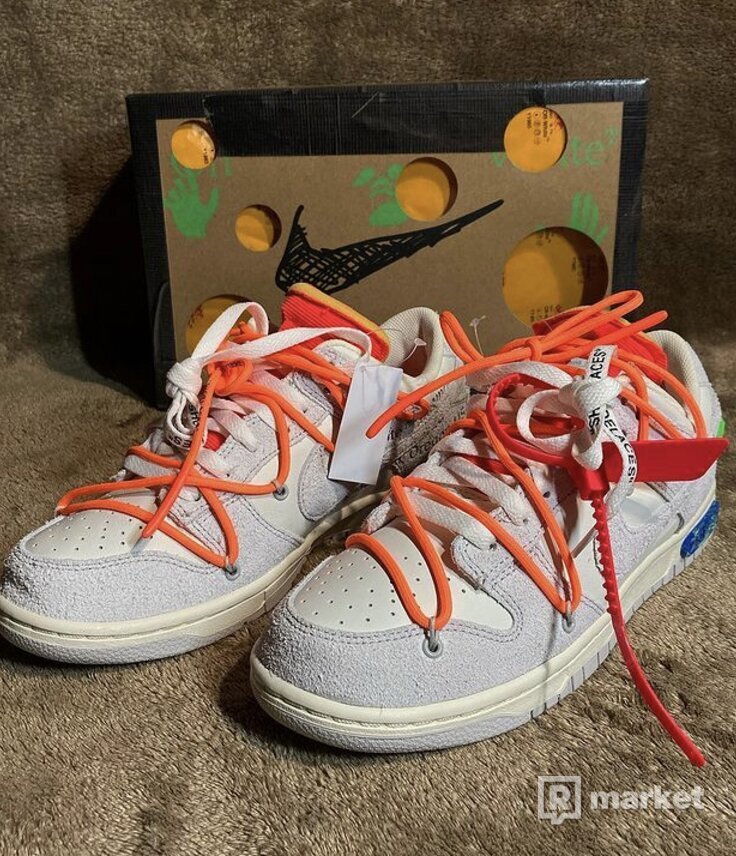 """Nike Dunk Low X Off White """"31of50"""""""