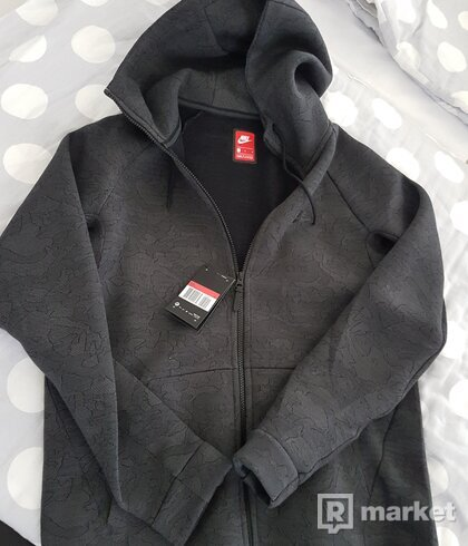 Mikina Nike Tech Fleece Jacquard Zip Hoodie