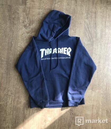 Thrasher hoodie navy