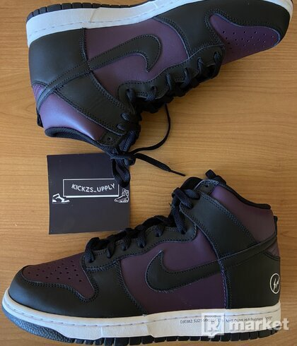 Nike Dunk High fragment design Beijing (2021)
