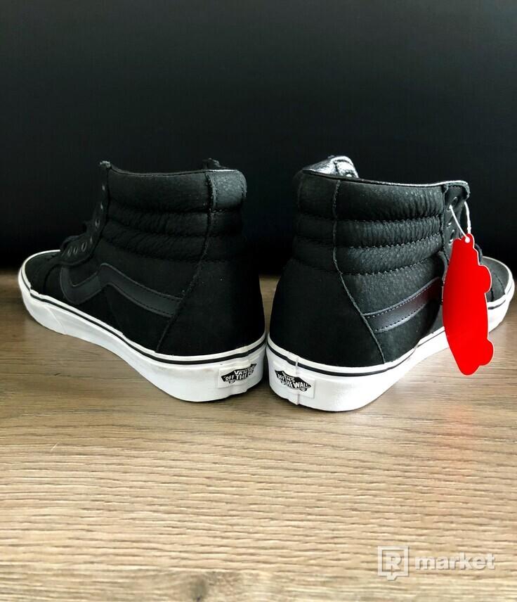 Vans Sk8-Hi Lux leather