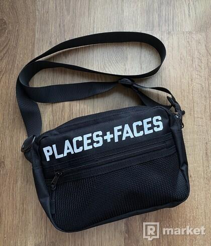 Places + faces waistbag logo side bag ľadvinka