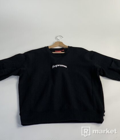 Box Logo Crewneck Black