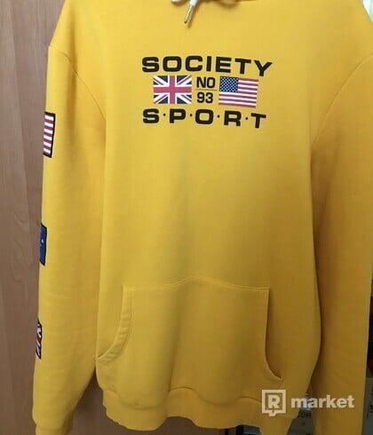 "Society sport ""flag hoodie"""