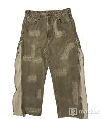 Custom Carhartt jeans