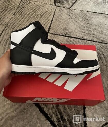 Nike Dunk High Black