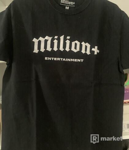 Milion+ tričko (merch)