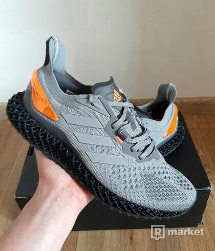 Adidas X9000 4D Grey Three Signal Orange, 1750 Kč