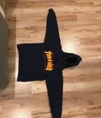 Thrasher flame logo hoodie modrá veľ. S