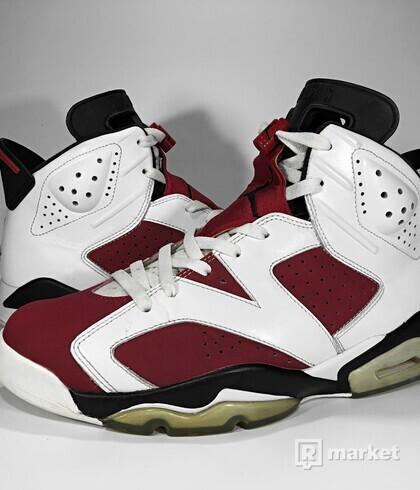 "Air Jordan Retro 6 ""Carmine"" 2014"