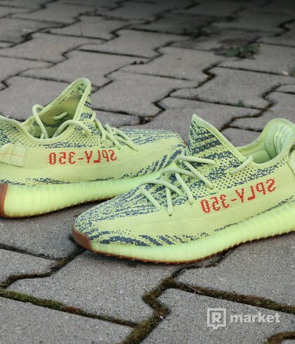 adidas Yeezy Boost 350 V2 Semi Frozen Yellow - US8