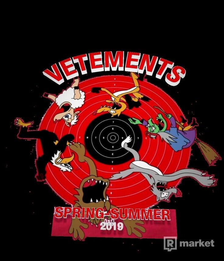 Vetements Cartoon T-Shirt