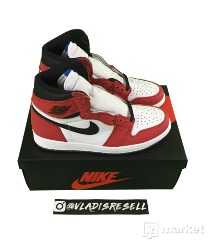 "Air Jordan 1 Retro High Origin Story ""Spider-man"" US8"