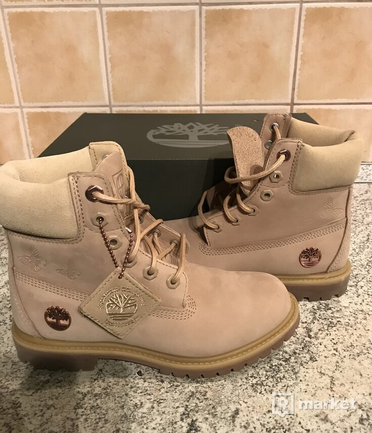 Timberland Leder-Boots 6- Inch Premium