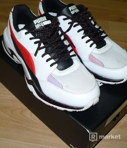 Puma MCQ tech runner LO white